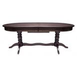 стол складной Мебель Импэкс Leset Вашингтон 2Р  Венге Т34 (раздвижной)