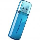 usb-флешка Silicon Power Helios 101 16Gb,голубая