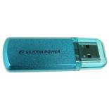 usb-флешка Silicon Power Helios 101 8GB, голубая