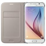 чехол для смартфона Samsung для Samsung Galaxy J5 (2016) Flip Wallet, золотистый