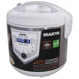 мультиварка MARTA MT-4301 белая/стальная