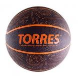 мяч баскетбольный TORRES TT burgundy-orange