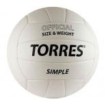 мяч баскетбольный TORRES Simple V30105, р.5, 260-280 гр
