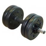 гантель Lite Weights 3101CD (5 кг), сборная