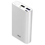 аккумулятор универсальный Asus ZenPower 10050C (QC) ABTU012 10050mAh, серебристый