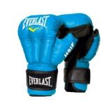 перчатки боксерские Everlast HSIF RF3210, 10oz, к/з, синий