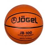 мяч баскетбольный Jogel JB-100 №7 резиновый