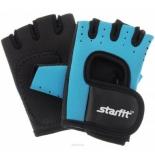 перчатки для фитнеса Starfit SU-107 (размер:  XL), сине-черные
