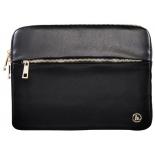 сумка для ноутбука Чехол Hama Mission Notebook Sleeve 15.6, черный/золотистый
