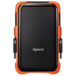 жесткий диск Apacer AP2TBAC630T-1 2000Gb черный/оранжевый