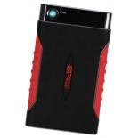 жесткий диск Silicon Power Armor A15 500GB (SP500GBPHDA15S3L, внешний), чёрно-красный