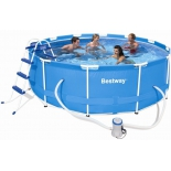 бассейн каркасный Bestway Steel Pro Max 56260 (круглый)