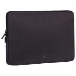 сумка для ноутбука Чехол Riva 7703, черный