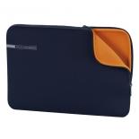 сумка для ноутбука Чехол Hama Neoprene Style Notebook Sleeve 15.6, синий