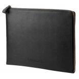 сумка для ноутбука Чехол HP Case Leather Sleeve 13.3, черный