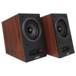 акустическая система CBR CMS 590 Wooden, коричневая