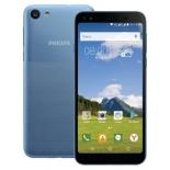 смартфон Philips S395 2/16 Gb, светло-синий