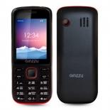 сотовый телефон Ginzzu M201 черный/красный