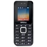 сотовый телефон Ginzzu M102D mini, черный