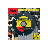 диск отрезной Fubag Multi Master, алмазный  (d125/22.2)
