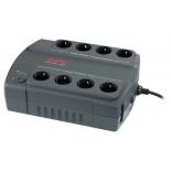 источник бесперебойного питания APC Back-UPS ES 400VA 230V (BE400-RS) черный