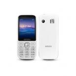 сотовый телефон Ginzzu M201, белый/серый