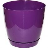 кашпо FormPlastic Тоскана, фиолетовое (028788)