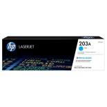 картридж для принтера HP LaserJet 203A (CF541A), синий
