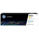 картридж для принтера HP LaserJet 203A (CF542A), жёлтый