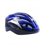 шлем велосипедный Ridex Cyclone, синий/черный