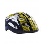 шлем велосипедный Ridex Cyclone, желтый/черный