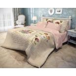 комплект постельного белья Волшебная ночь, ранфорс, семейный, нав. 70x70*2, Tulips