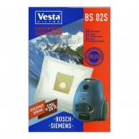 аксессуар к бытовой технике Vesta BS02S, комплект пылесборников