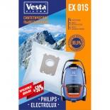 аксессуар к бытовой технике Vesta EX01S, комплект пылесборников