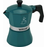 кофеварка Vitesse VS-2648, зеленая