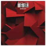 весы напольные Scarlett SC-BS33E086, красные