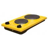 плитка электрическая Лысьва ЭПБ 22, желтая