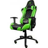 игровое компьютерное кресло ThunderX3 TGC12-BG, черное/зеленое