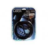 аксессуар для ноутбука Continent Cable Lock NCL-104 (кодовый)