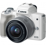 цифровой фотоаппарат Canon EOS M50 Kit (15-45 IS STM) White