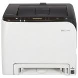 принтер лазерный цветной Ricoh Aficio SP C261DNw (настольный)