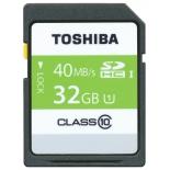 карта памяти Toshiba SD-T032UHS1(6 (SDHC 32 Гб, U1, UHC-I)