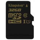 карта памяти Kingston SDCA10/32GBSP (32Gb, microSDHC, Class10, UI)