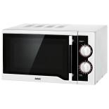 микроволновая печь BBK 20MWS-712M/WB, бело-черная