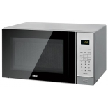микроволновая печь BBK 20MWS-729S/BS, черная/серебро