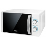микроволновая печь BBK 20MWS-711M/WS, белая/серебро