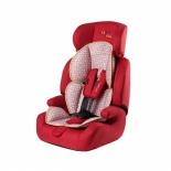 автокресло детское Liko Baby 515 B 1-2-3 (9-36 кг), кирпичное/лен