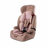 автокресло детское Liko Baby 515 B 1-2-3 (9-36 кг), коричневое/лен