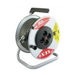 удлинитель электрический Lux К4-Е-50, с катушкой  (45150)