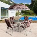стол со стульями Набор мебели Afina Версаль 6-предметов DS-109